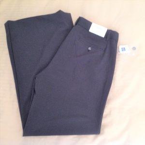 GAP Womens Dress Pants Size 2R Black Trouser NWT